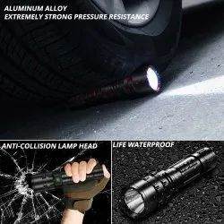 High Power Waterproof Self Defensive Torch Light 40W