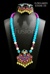 Designer Beaded Necklace Set