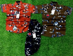 Casual Wear Kids Shirts, Age: 3 years to 8 years