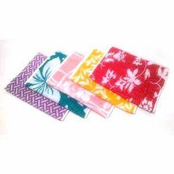 Multicolor Cotton Designed Napkin, Size: 30-40 cm