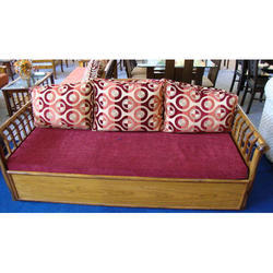 Cushion Wooden Sofa