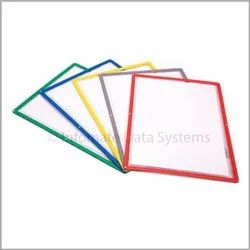 Infomate Plastic Magnetic Folder Cum Writing Surface, Paper Size: A3 & A4