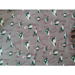 Birds Printed Cotton Fabric, Gsm: 100-150 Gsm, for Dupatta