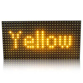 P10 Led Display Module Yellow