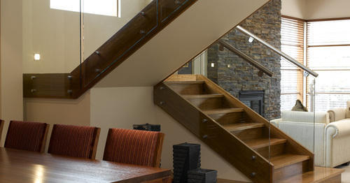 Glass Staircase Toughened Hand Railing, Rs 2800 /running ...