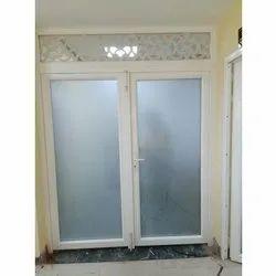 AJ Interio Toughened Glass UPVC Casement Doors, 1.5 Mm
