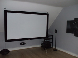 Wooden Frame Projector Screen