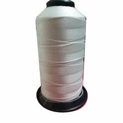 Natural Half White Filament Braided Polyester Thread, Packaging Type: Y Cone