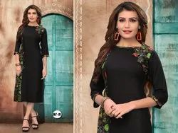 3/4 Sleeve Regular Wear Kurti