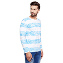 Men''s Full Sleeves Round Neck Printed T-Shirt