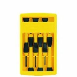 Chrome Vanadium Steel Bars Stanley 66-052 6 Pieces Precision Screwdriver Set