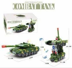 Green Combat Tank Toy