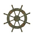 Nautical Wooden Design Ship Wheel