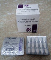 Calcium Citrate Calcitrol Magnesium Hydro Chloride & Zinc Tablets