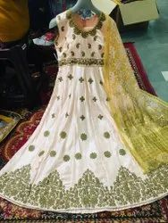 Embroidered Anarkali Suit for Women