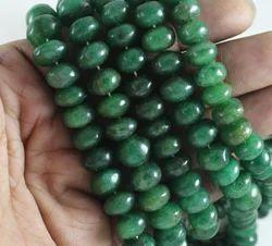 Aventurine Roundel Plain Smooth Beads