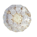 White Rose Floating Candles