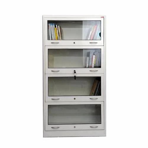 Metal Glass Door Book Shelf, Rs 4300 /number, Shreevallabh
