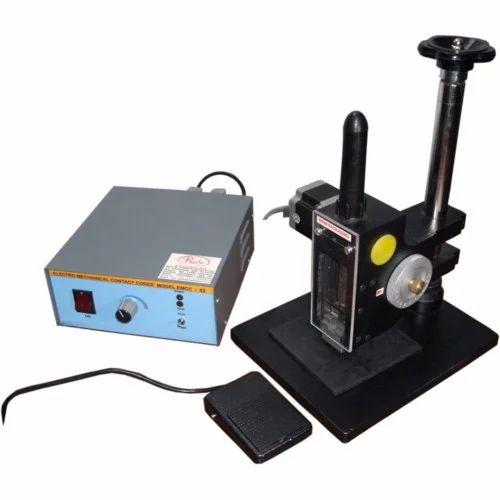 CodTech SS Motorized Coding Machine, Model: MTP-100