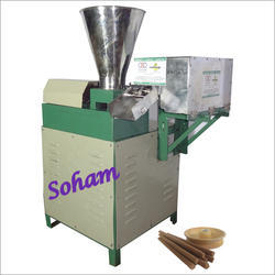 Fully Automatic Dry Dhoop Stick Making Machine PLC Model