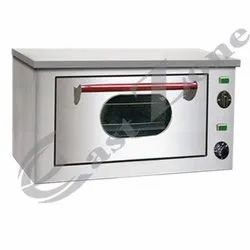 Single Door Stainless Steel Commercial Pizza Oven, 2.4 kW/hr