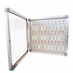 Glass Door Key Cabinet