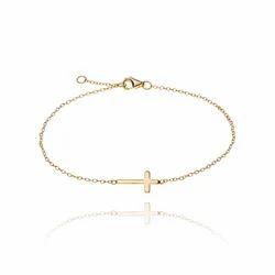Chris Cross Christian Lovers Religious Chain Charm God Lovers Bracelet