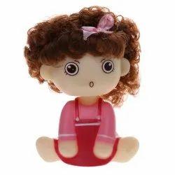 daluci Vinyl Car Interior Shaking Head Doll Girl