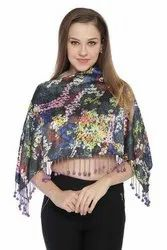 Sati Party Wear Digital Printed Ruhana Top, Size: Large