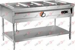 Bain Marie 4 Container Half Covering