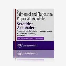 Salmeterol And Fluticasone Seretide Accuhaler 50/500 Inhaler