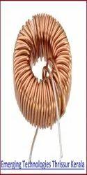 10Pcs Toroid Core Inductors Wire Wind Wound DIY mah--100uH 6A Coil RSNI BRPJ