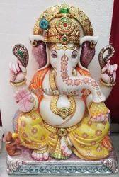 Marble Ganesha God Statue