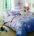 Dove House Bed Sheet Rosepetal