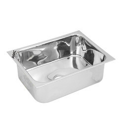 AMC Polished Single Bowl Kitchen Sink