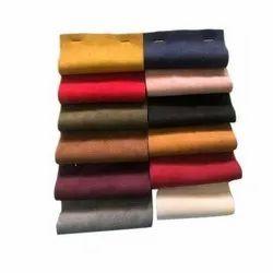 Suede Plain Fabric