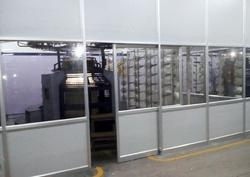 Commercial Aluminium Solid Partition