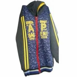 Full Sleeve Woolen Boys Jacket, Size: 22-30 and also available in 32-40
