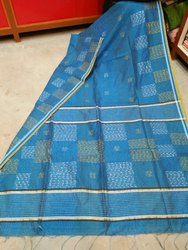 Handloom Weaving Thread Work Sarees
