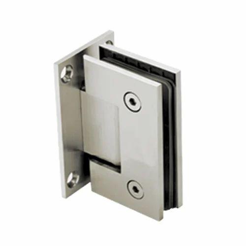 Define Stainless Steel Bathroom Glass Fitting, Size: Standard