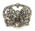 Silver Decorative Laxmi Ganesh Idol For Gift