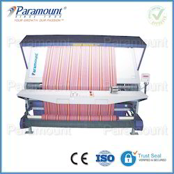 Fabric Inspection Machine Both Side Rolling without Edge Guiding