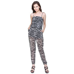 Polyester Casual Wear Women Surplus Export Jumpsuit
