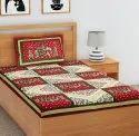 Rajasthani Rajwada Cotton Single Bedsheet