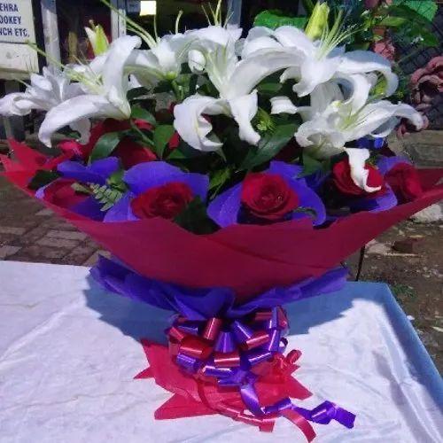 Flower Basket Combo