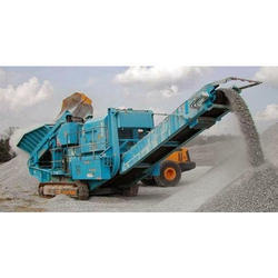 Mobile Stone Crushing Machine
