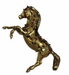 Brass Stone Work Horse