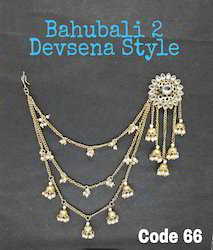 Chandelier Polki Fashion Jhumka Earrings
