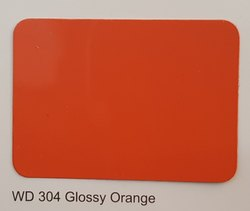 Wd 304 Glossy Orange ACP Sheet