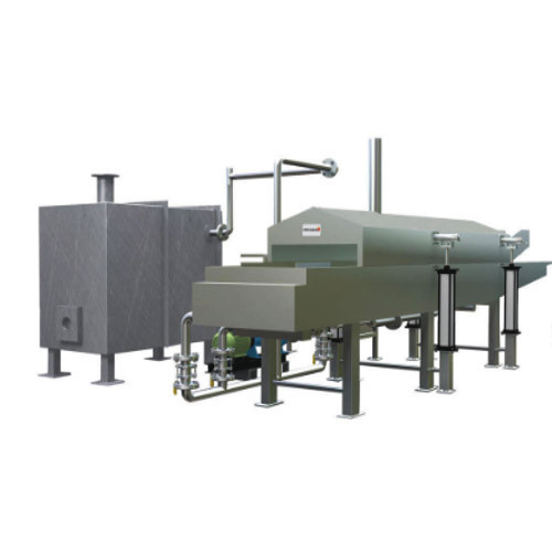 Automatic Banana Chips Continuous Fryer
